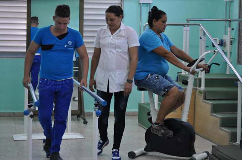 Muestra Camagüey loables resultados en los servicios de rehabilitación.