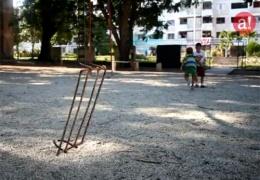 Decadencia de los Parques Infantiles en Holguín